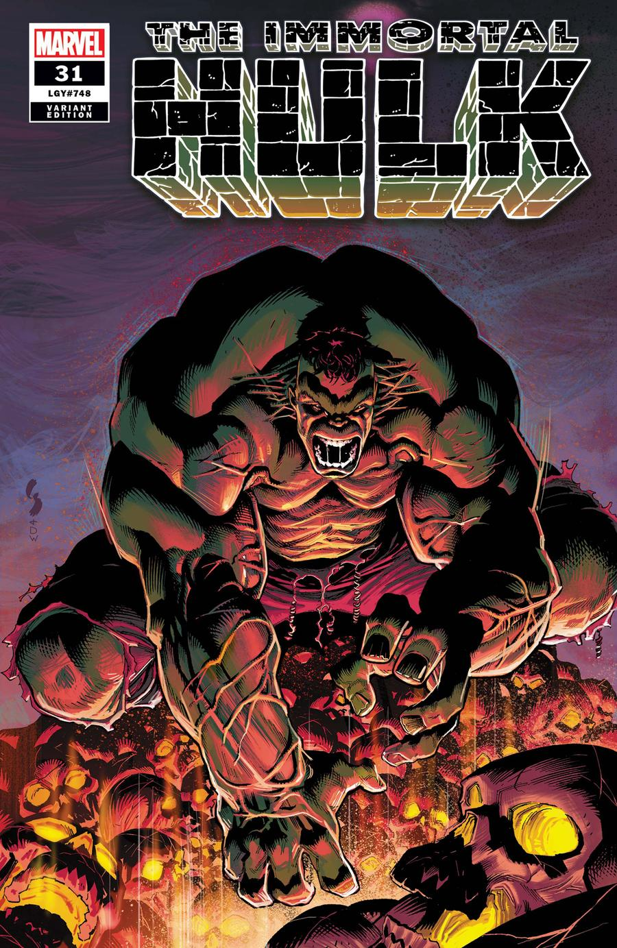 Immortal Hulk #31 Cover C Incentive Geoff Shaw Variant Cover