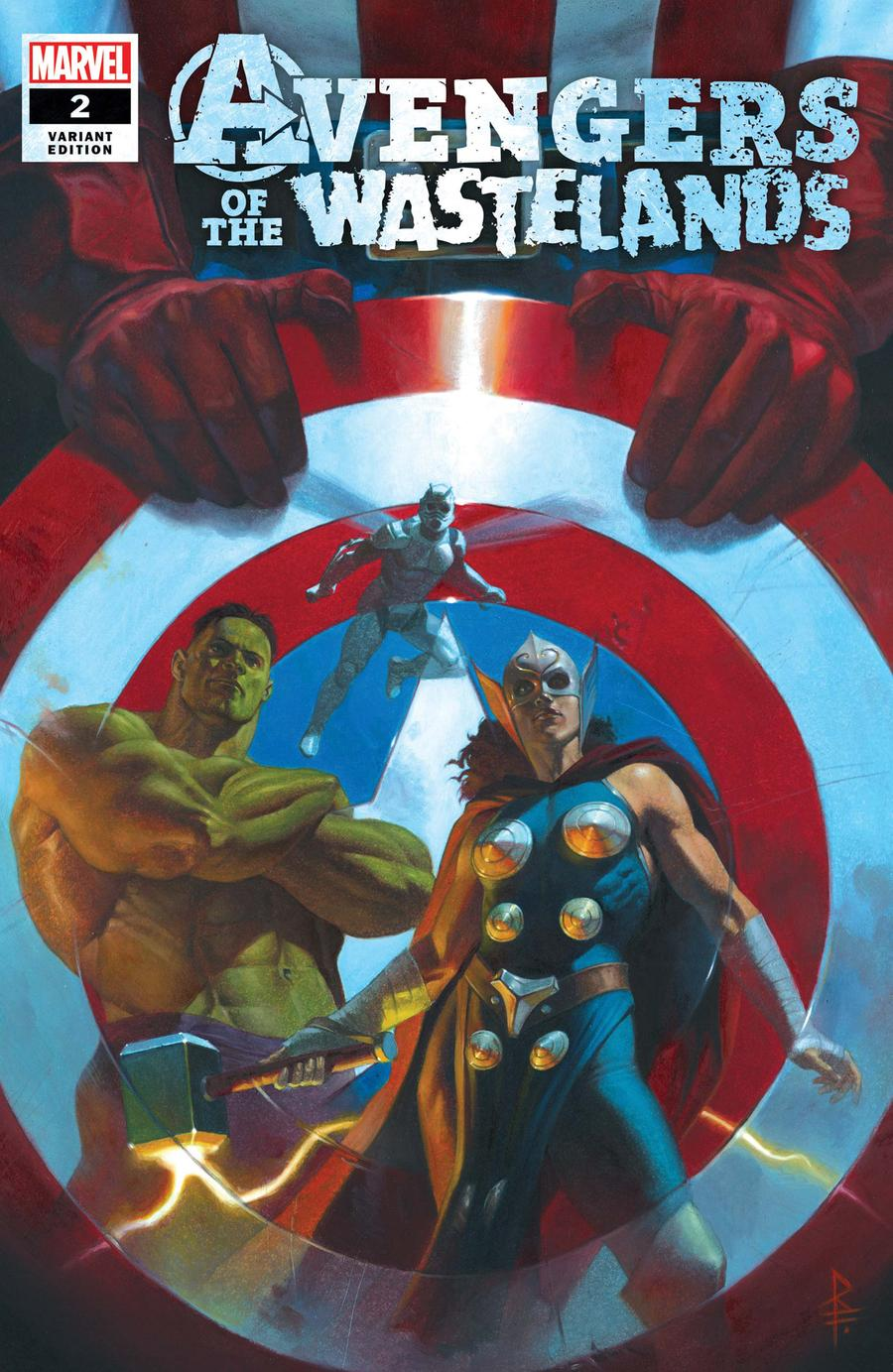 Avengers Of The Wastelands #2 Cover B Incentive Riccardo Federici Variant Cover