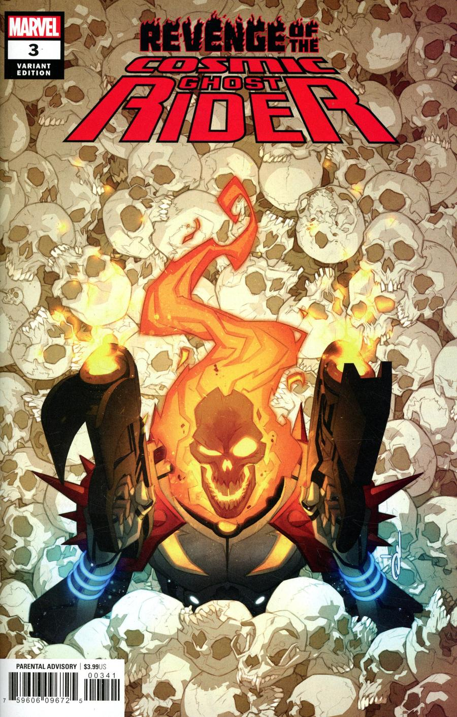 Revenge Of The Cosmic Ghost Rider #3 Cover D Incentive Ozgur Yildirim Variant Cover