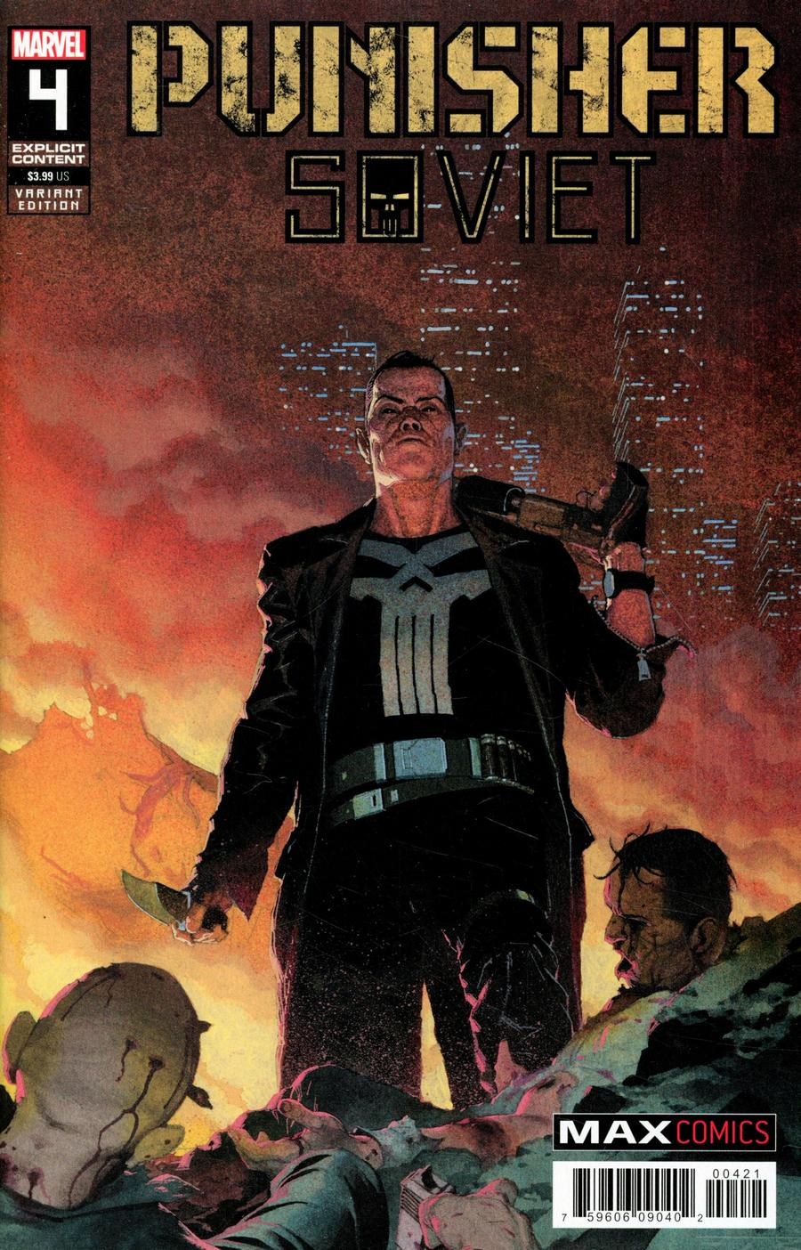 Punisher Soviet #4 Cover B Incentive Esad Ribic Variant Cover