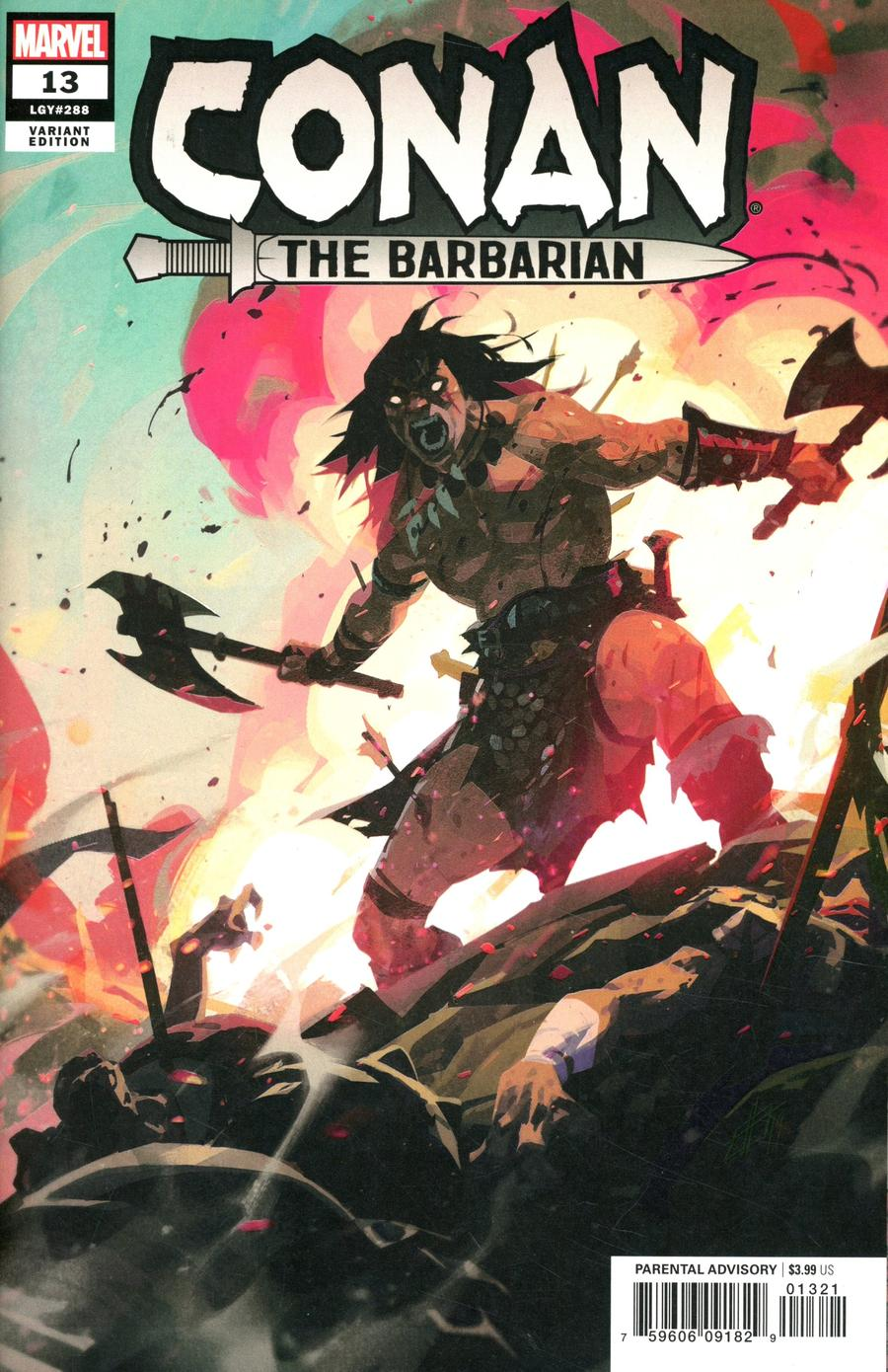 Conan The Barbarian Vol 4 #13 Cover B Incentive Toni Infante Variant Cover