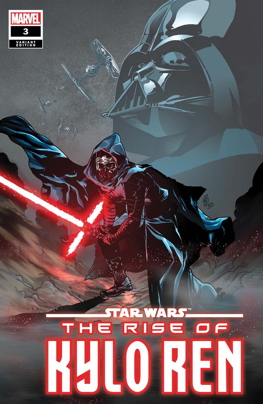 Star Wars Rise Of Kylo Ren #3 Cover B Incentive Stefano Landini Variant Cover (Limit 1 Per Customer)
