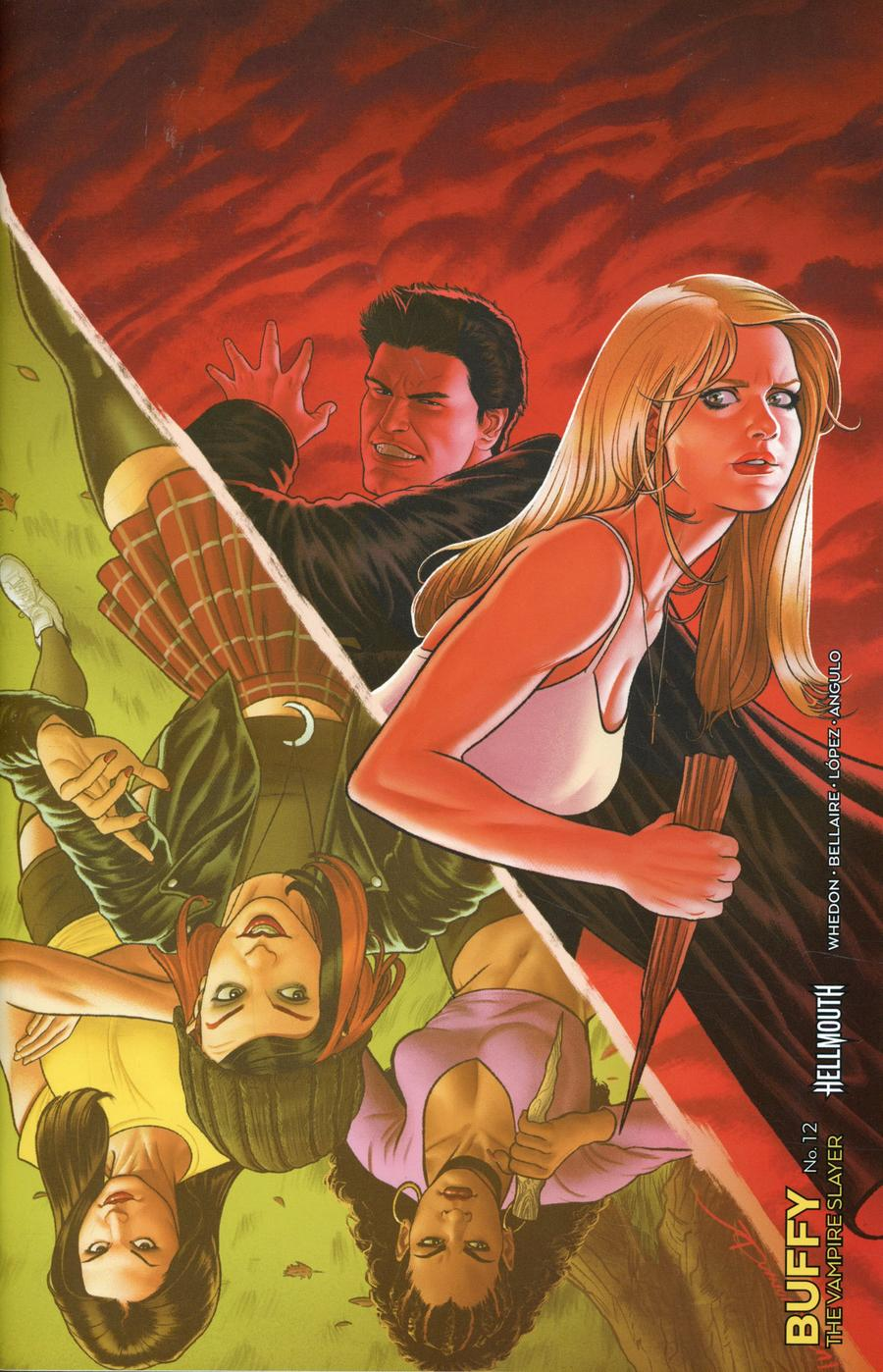 Buffy The Vampire Slayer Vol 2 #12 Cover F Incentive Joe Quinones Variant Cover (Hellmouth Tie-In)