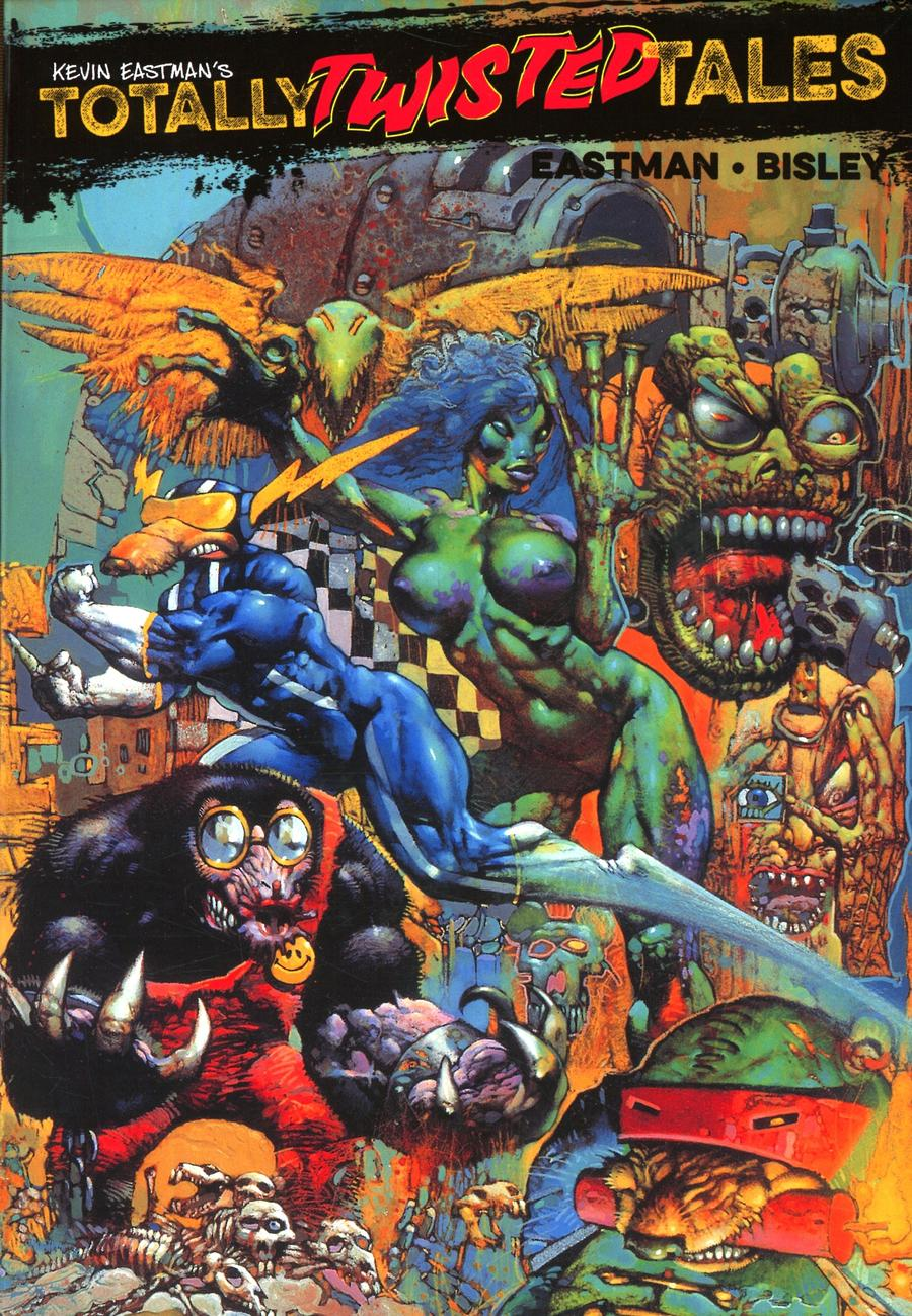 Kevin Eastmans Totally Twisted Tales TP Cover C Incentive Simon Bisley Variant Cover