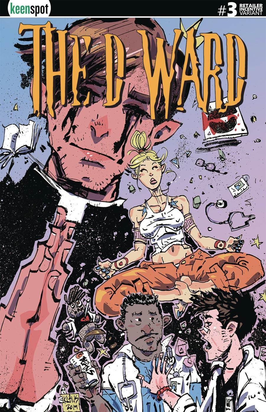D Ward #3 Cover D Incentive Erik Klaus Variant Cover