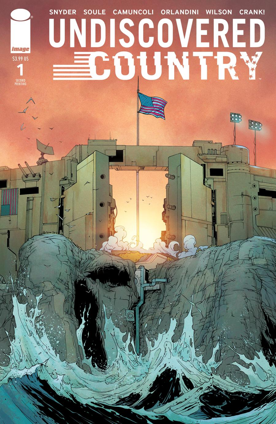 Undiscovered Country #1 Cover E 2nd Ptg