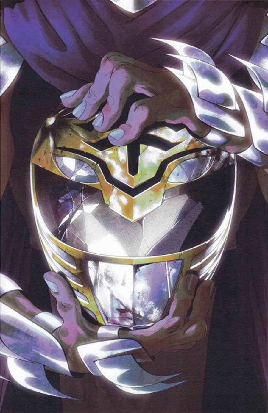 Mighty Morphin Power Rangers Teenage Mutant Ninja Turtles #1 Cover I 1st Ptg Incentive Thank You Variant Cover
