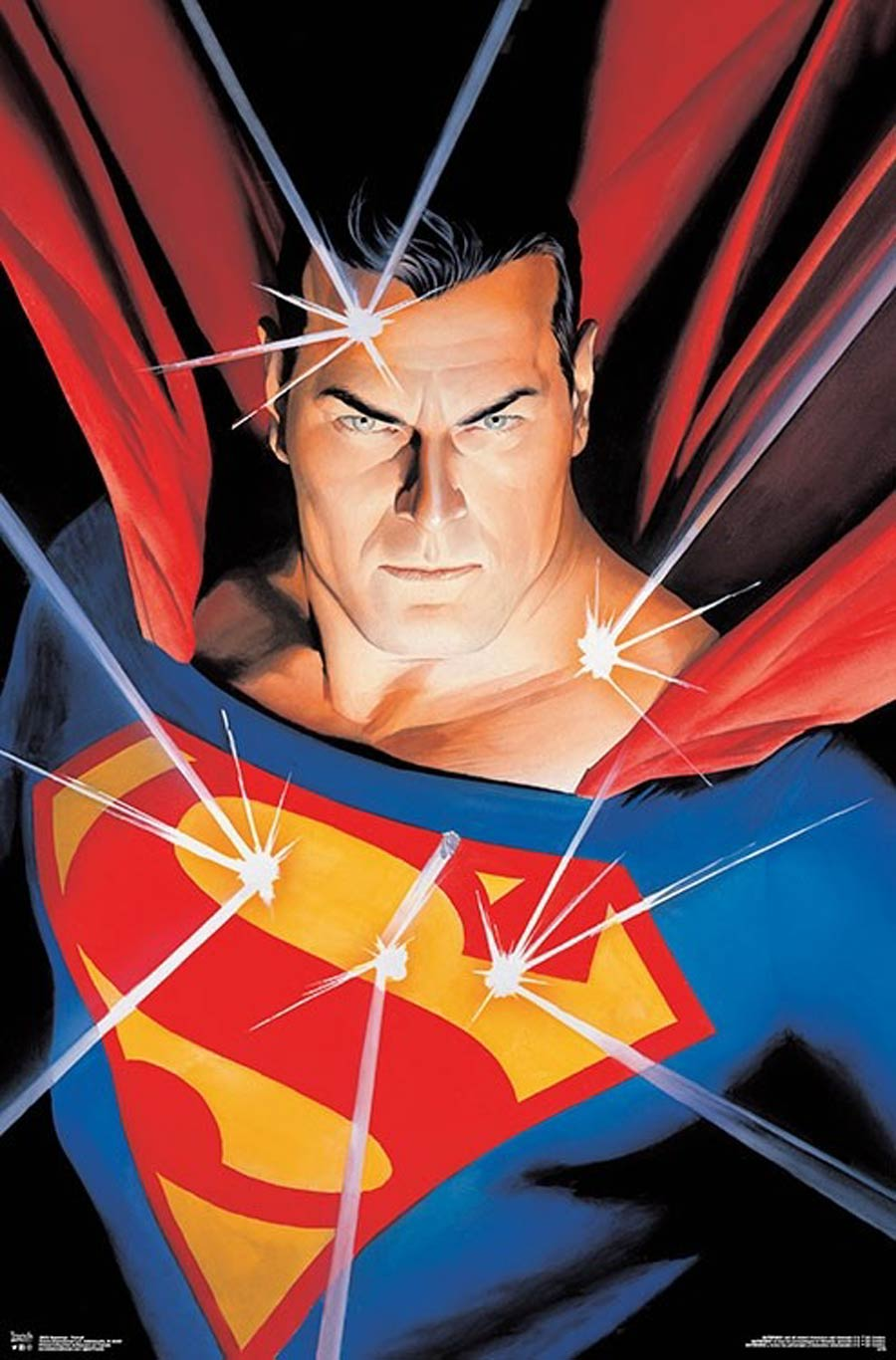 DC Comics Superman Portrait Wall Poster