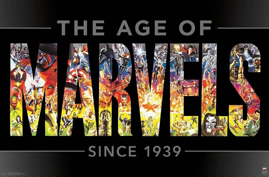 Marvel Comics Marvel 80th Anniversary Age Of Marvels Wall Poster