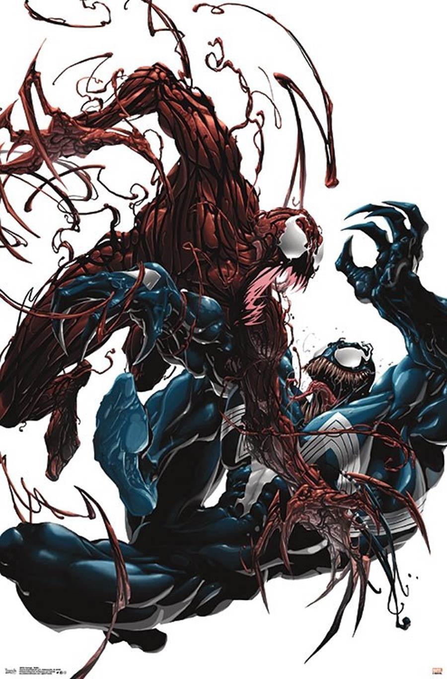 Marvel Comics Carnage Battle Wall Poster