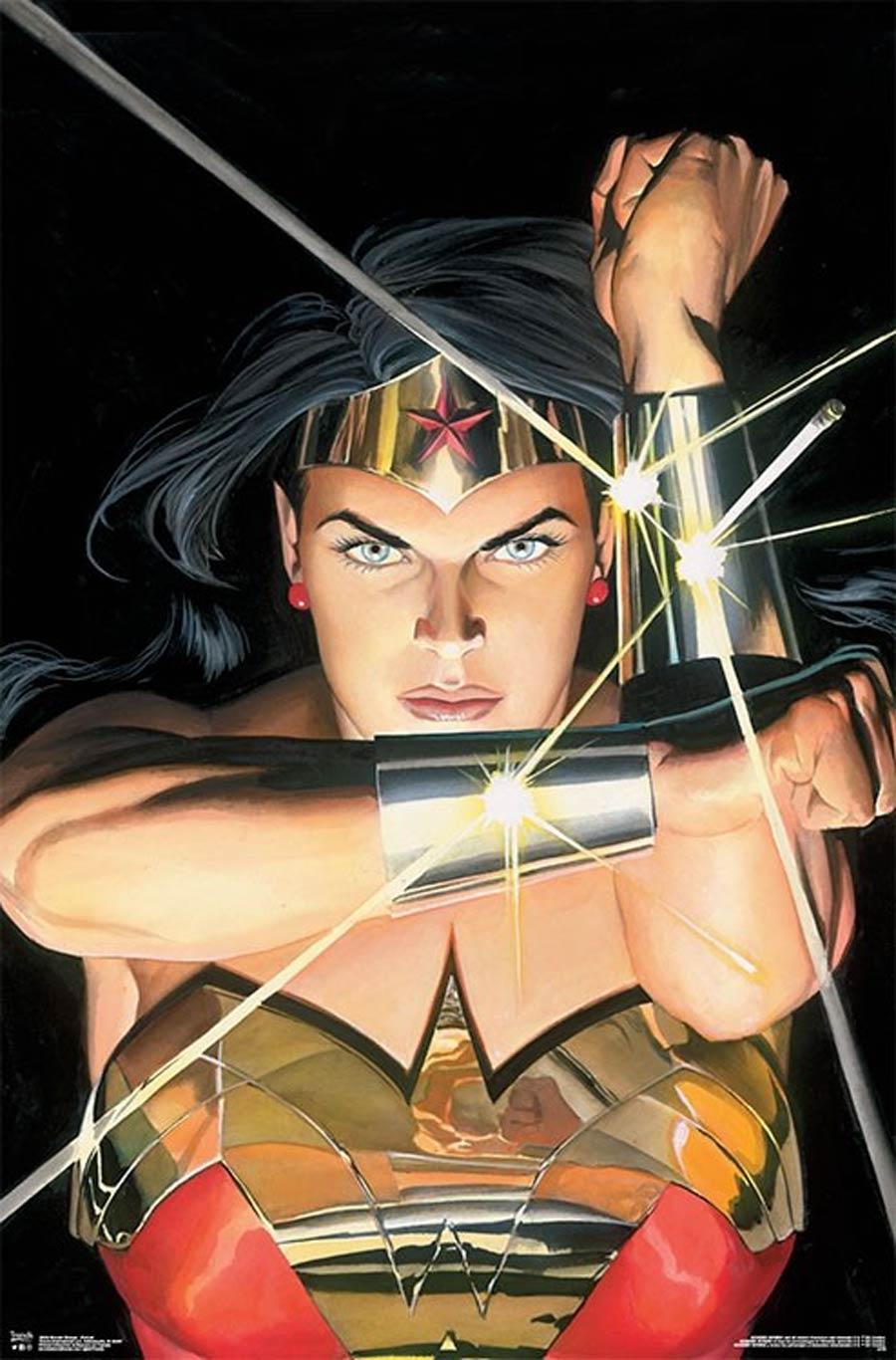 DC Comics Wonder Woman Alex Ross Portrait Wall Poster