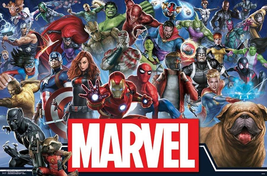 Marvel Comics Marvel Universe Heroes Wall Poster