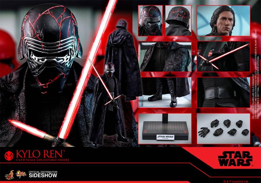 Star Wars The Rise Of Skywalker Kylo Ren Sixth Scale Figure Midtown Comics