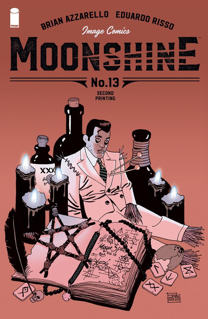 Moonshine #13 Cover B 2nd Ptg
