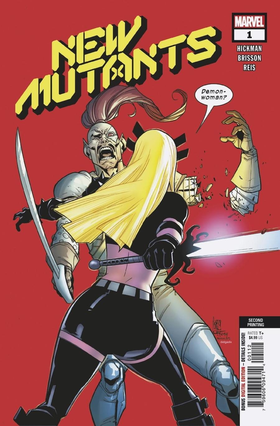New Mutants Vol 4 #1 Cover J 2nd Ptg Giuseppe Camuncoli Variant Cover (Dawn Of X Tie-In)