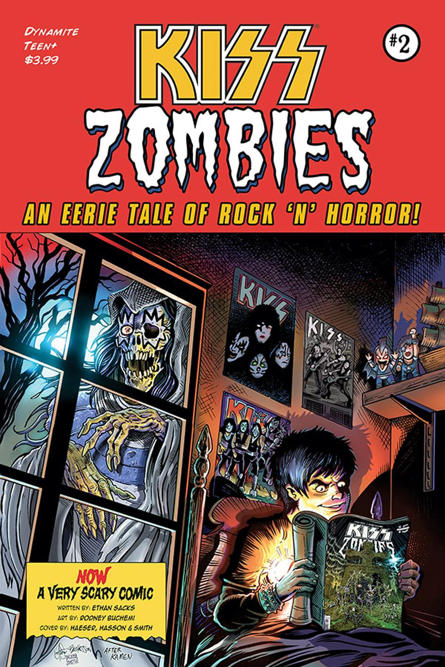 KISS Zombies #2 Cover E Incentive Ken Haeser Variant Cover