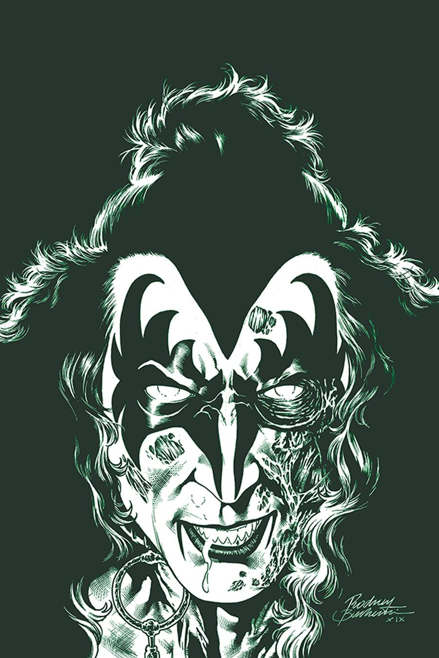 KISS Zombies #2 Cover K Incentive Rodney Buchemi Virgin Tint Cover