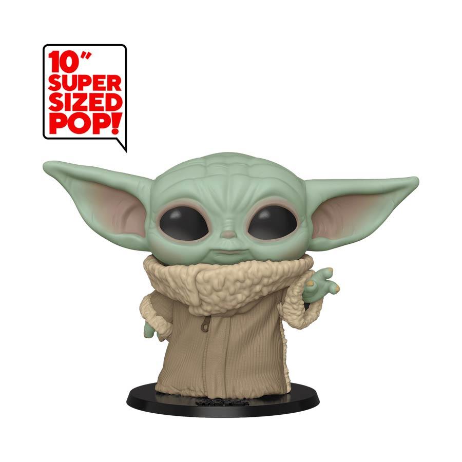 POP Star Wars The Mandalorian The Child 10-Inch Vinyl Bobble Head