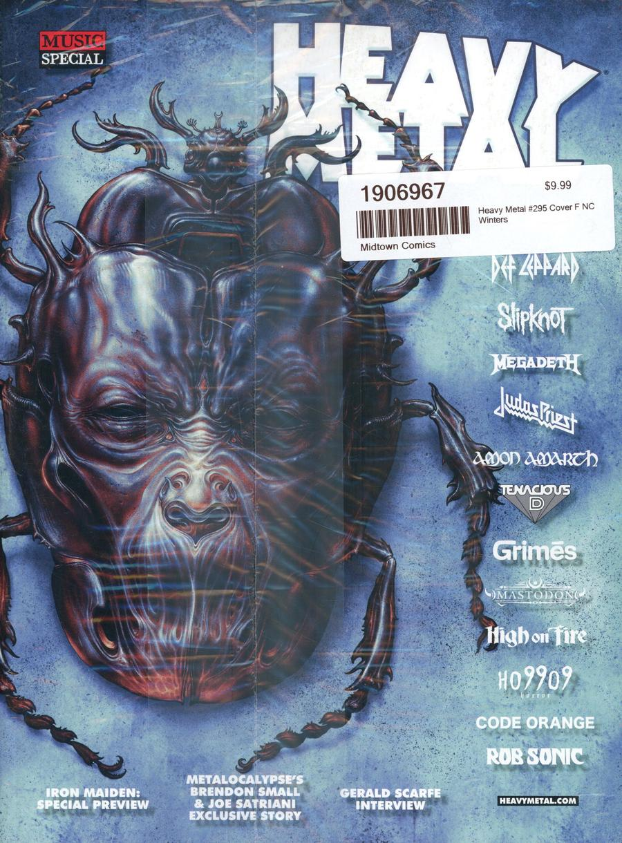 Heavy Metal #295 Cover F NC Winters