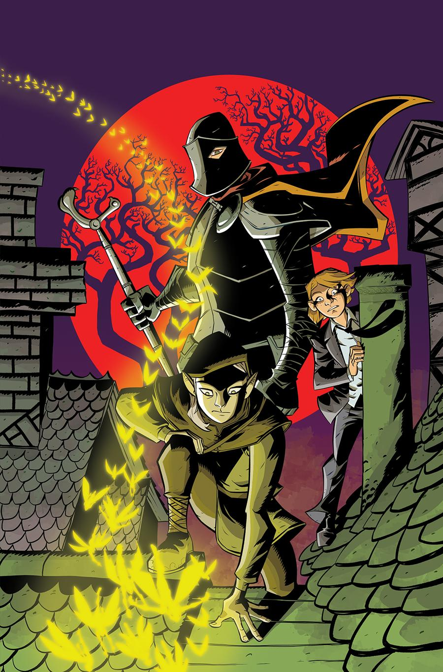 Folklords #2 Cover B Variant Michael Avon Oeming Cover