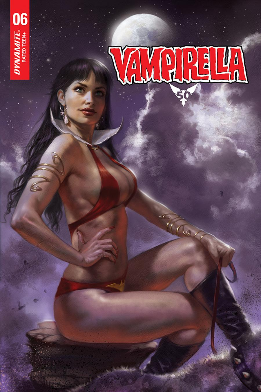 Vampirella Vol 8 #6 Cover O Incentive Lucio Parrillo Sneak Peek Variant Cover
