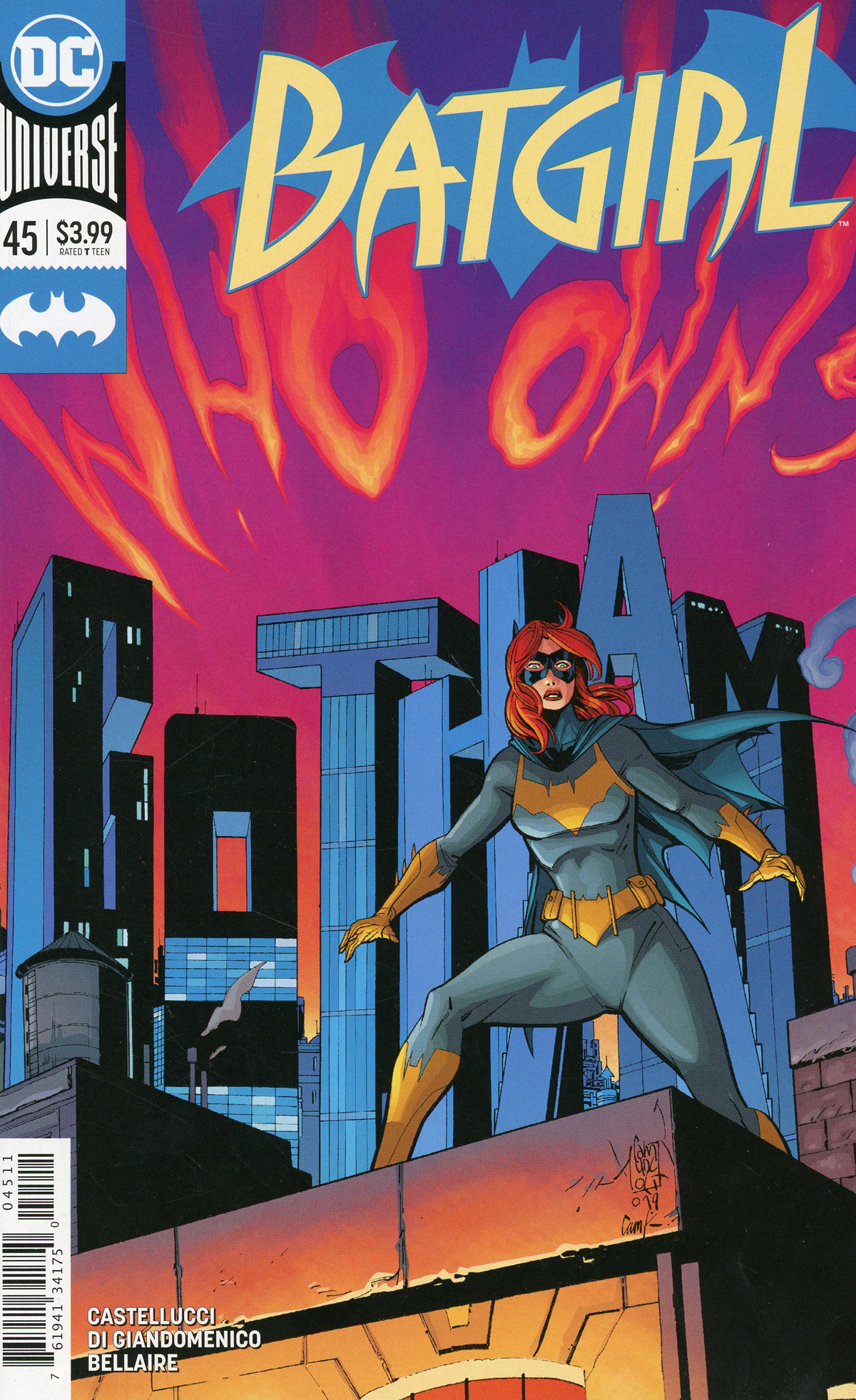 Batgirl Vol 5 #45 Cover A Regular Giuseppe Camuncoli & Cam Smith Cover