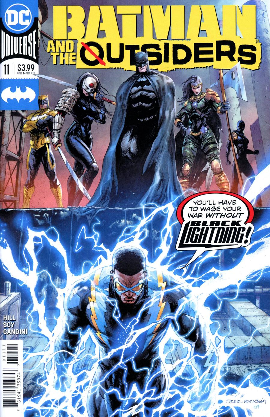 Batman And The Outsiders Vol 3 #11 Cover A Regular Tyler Kirkham Cover