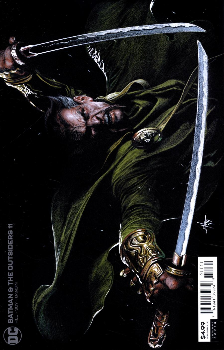 Batman And The Outsiders Vol 3 #11 Cover B Variant Gabriele Dell Otto Card Stock Cover