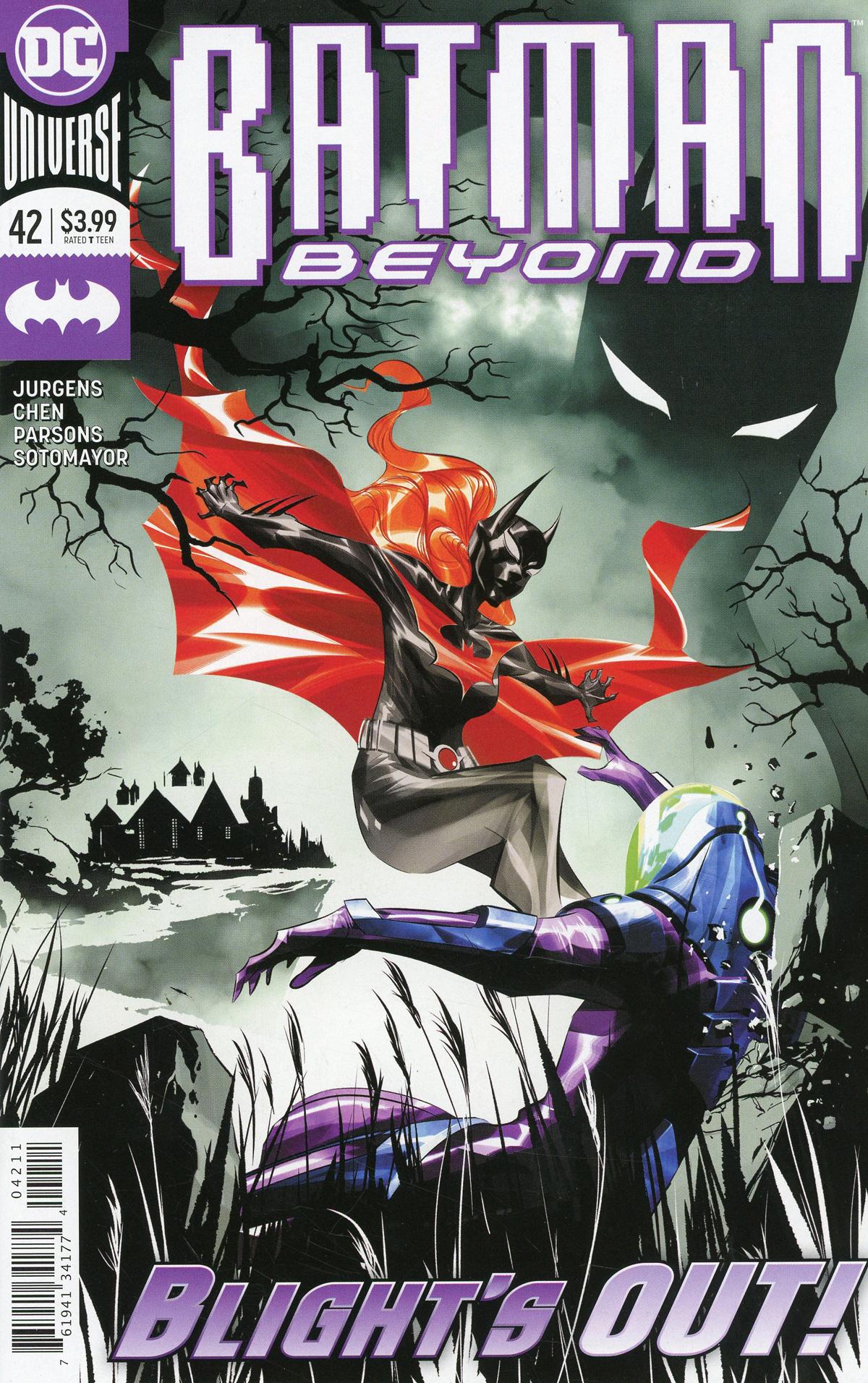 Batman Beyond Vol 6 #42 Cover A Regular Dustin Nguyen Cover