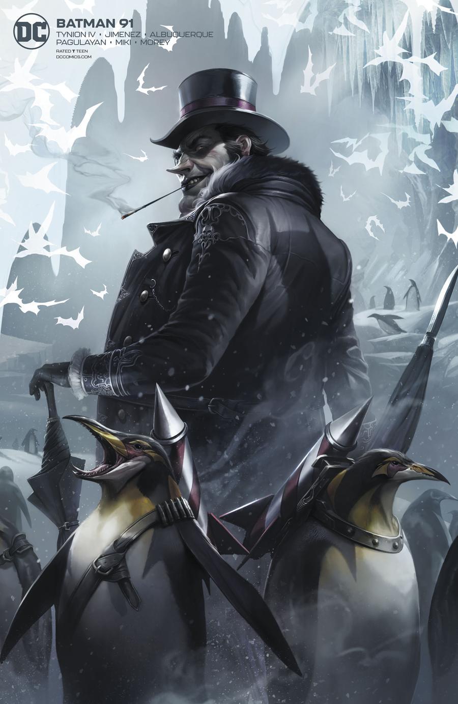 Batman Vol 3 #91 Cover B Variant Francesco Mattina Card Stock Cover