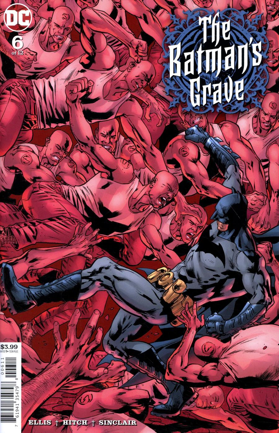 Batmans Grave #6 Cover A Regular Bryan Hitch Cover