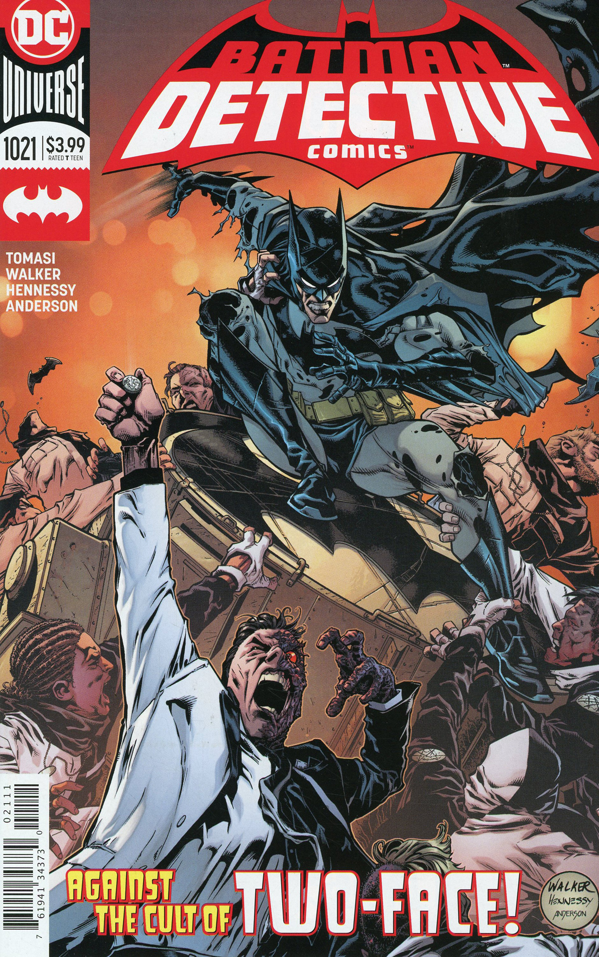 Detective Comics Vol 2 #1021 Cover A Regular Brad Walker & Andrew Hennessy Cover