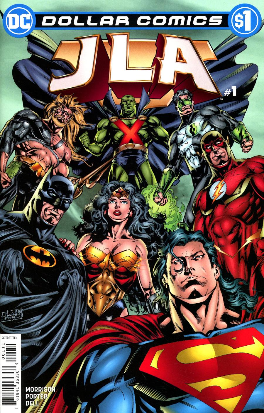 Dollar Comics JLA #1