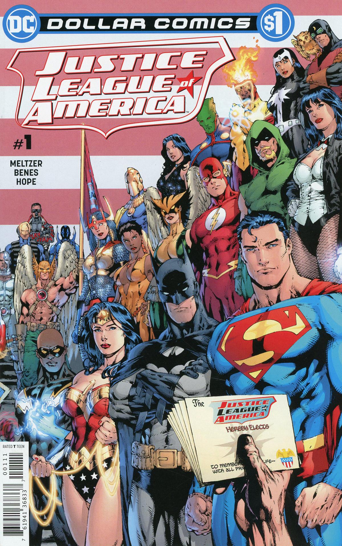 Dollar Comics Justice League Of America Vol 2 #1