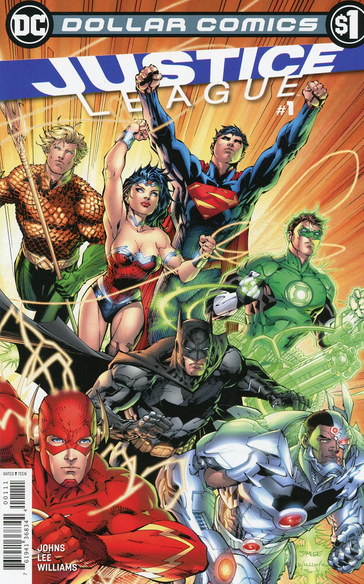 Dollar Comics Justice League Vol 2 #1