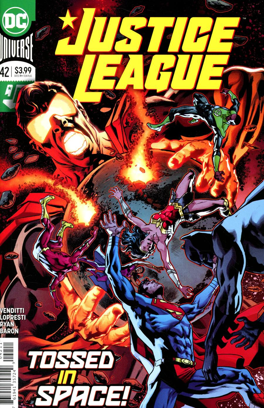 Justice League Vol 4 #42 Cover A Regular Bryan Hitch Cover