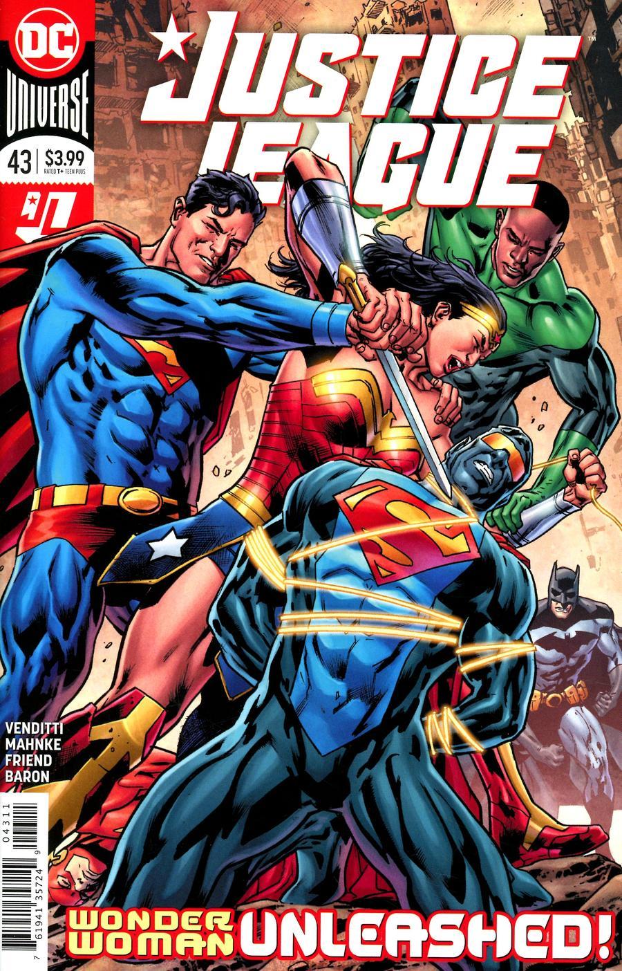 Justice League Vol 4 #43 Cover A Regular Bryan Hitch Cover