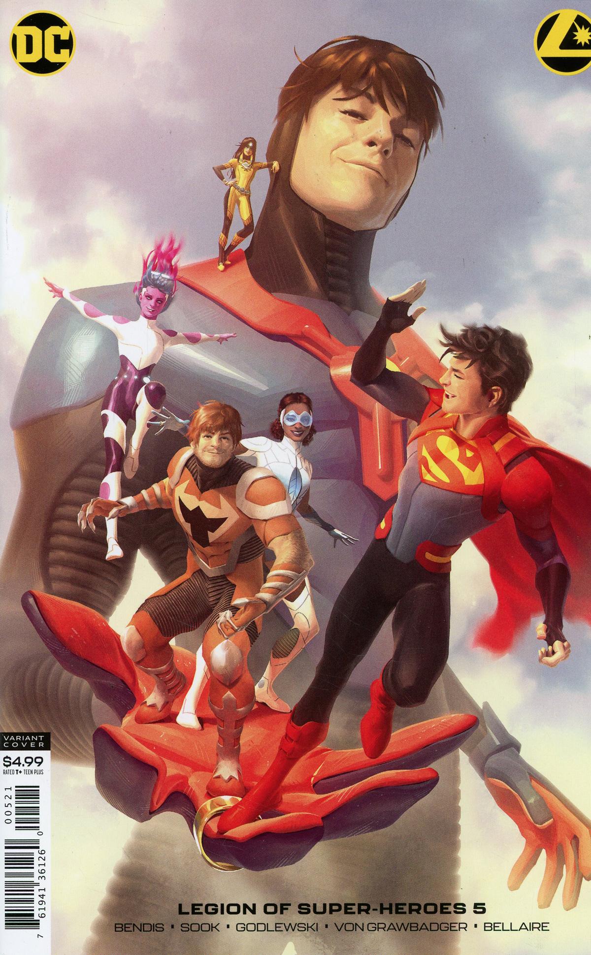 Legion Of Super-Heroes Vol 8 #5 Cover B Variant Alex Garner Card Stock Cover