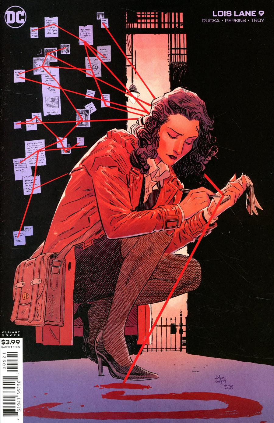 Lois Lane Vol 2 #9 Cover B Variant Bilquis Evely Cover
