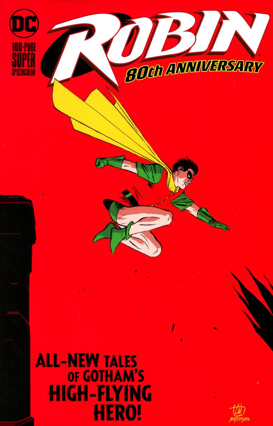 Robin 80th Anniversary 100-Page Super Spectacular #1 Cover A Regular Lee Weeks Cover