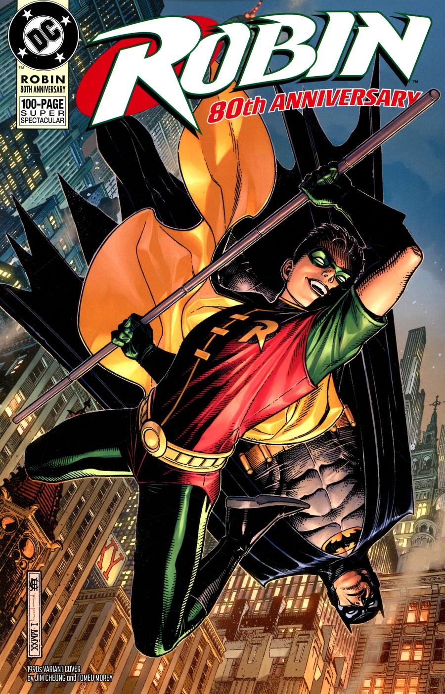 Robin 80th Anniversary 100-Page Super Spectacular #1 Cover G Variant Jim Cheung 1990s Cover