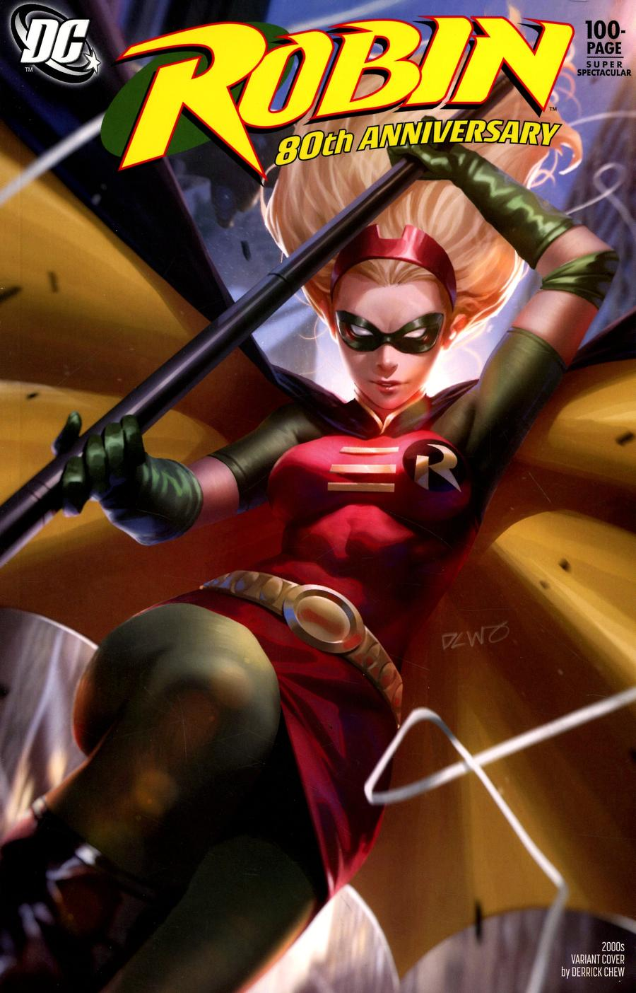 Robin 80th Anniversary 100-Page Super Spectacular #1 Cover H Variant Derrick Chew 2000s Cover