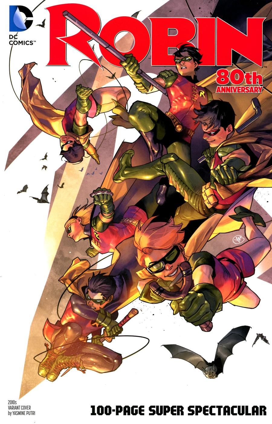 Robin 80th Anniversary 100-Page Super Spectacular #1 Cover I Variant Yasmine Putri 2010s Cover
