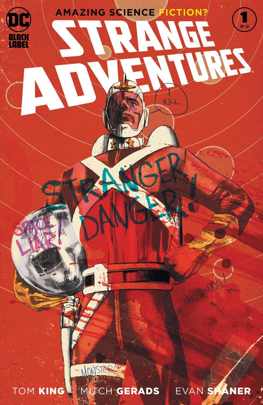 Strange Adventures Vol 4 #1 Cover A Regular Mitch Gerads Cover
