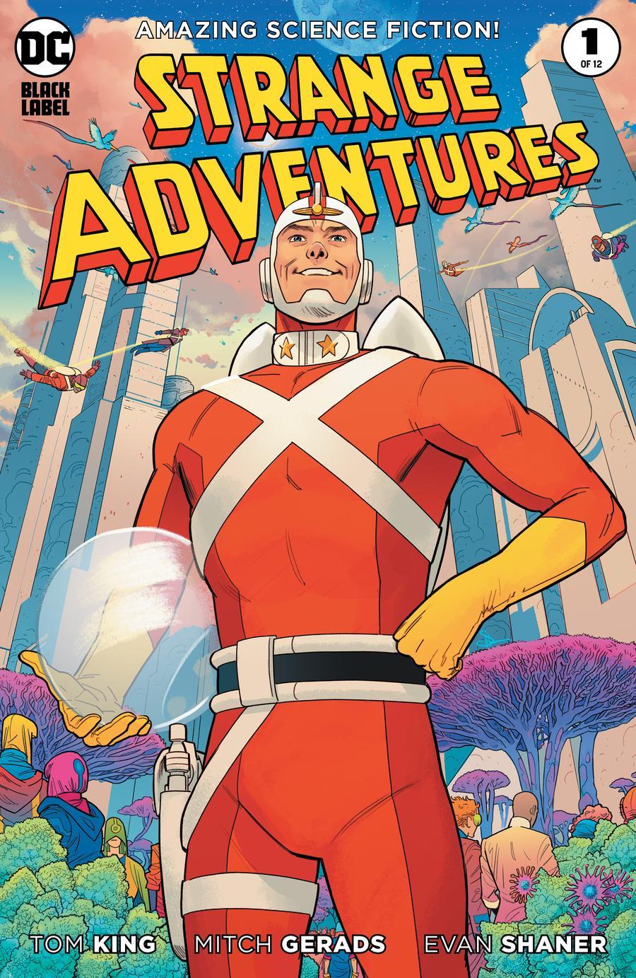 Strange Adventures Vol 4 #1 Cover B Variant Evan Doc Shaner Cover