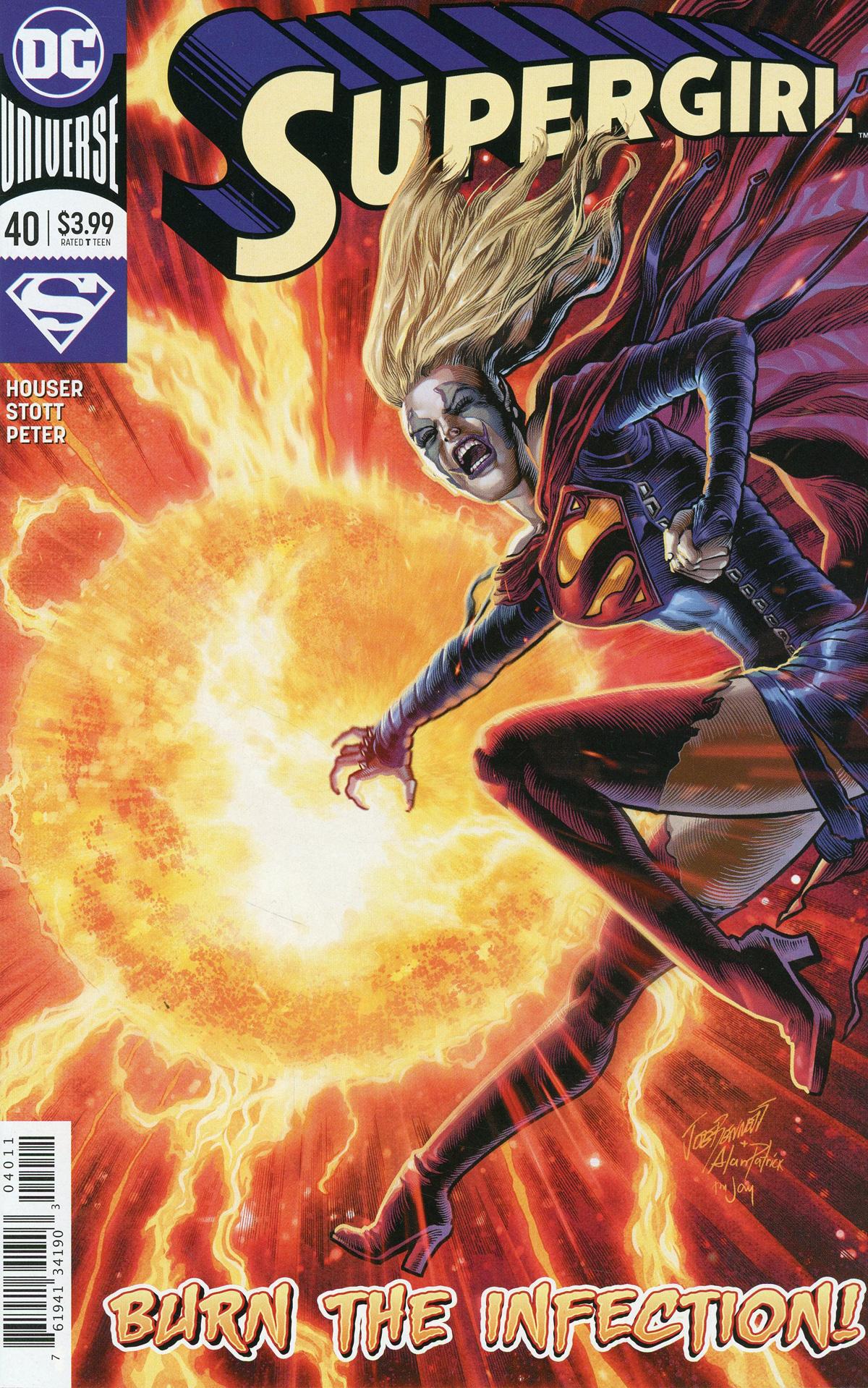 Supergirl Vol 7 #40 Cover A Regular Joe Bennett Cover