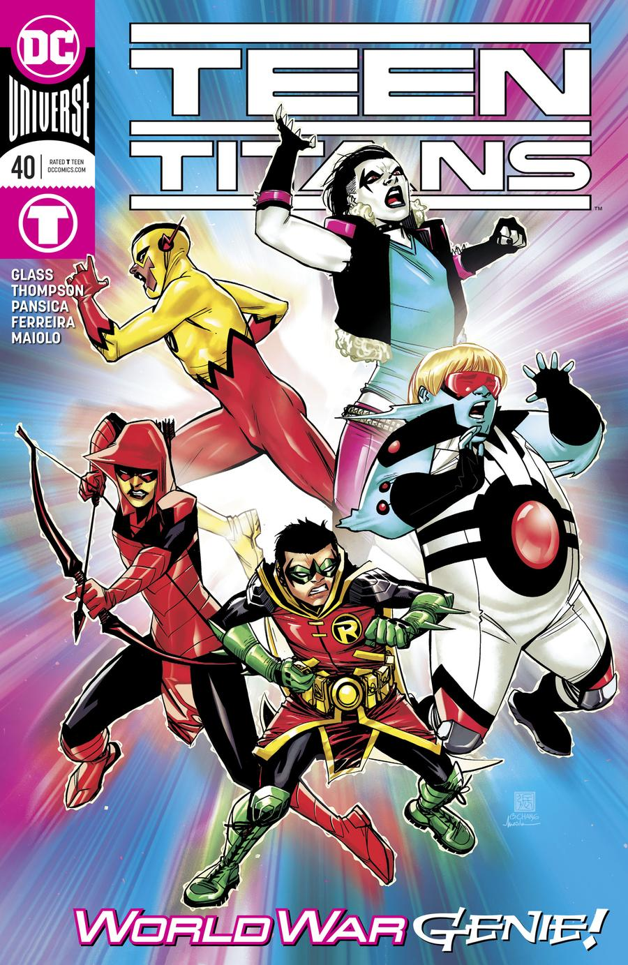Teen Titans Vol 6 #40 Cover A Regular Bernard Chang Cover