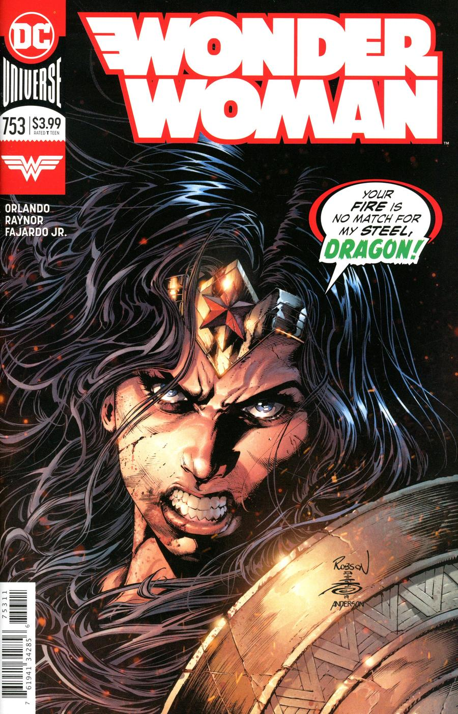 Wonder Woman Vol 5 #753 Cover A Regular Robson Rocha & Danny Miki Cover