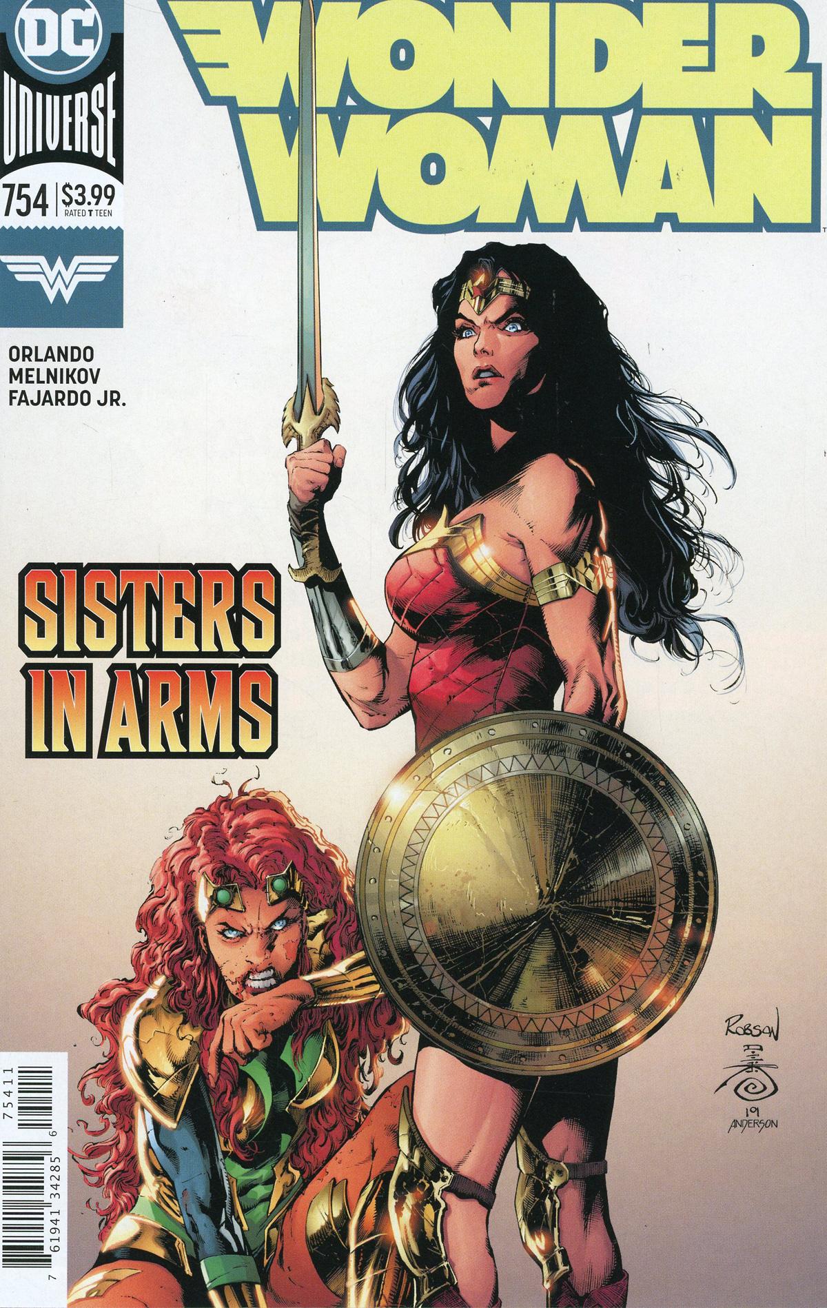 Wonder Woman Vol 5 #754 Cover A Regular Robson Rocha & Danny Miki Cover