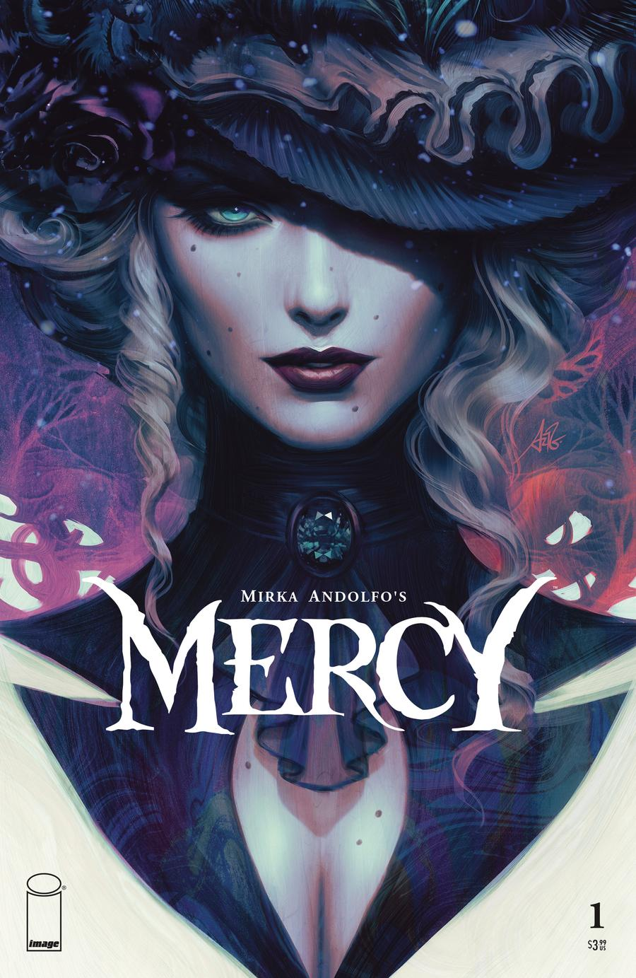 Mirka Andolfos Mercy #1 Cover C Variant Stanley Artgerm Lau Cover